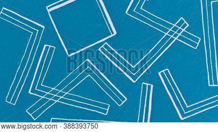 Ocean Bohemian Style. Hand Drawn Stroke. Organic Bohemian Motif. Geometric Lineal Wallpaper. Contemp