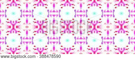 Seamless Native Ethnic Pattern. Ink Painted Geometric Background. Trendy Chevron Design. White And C