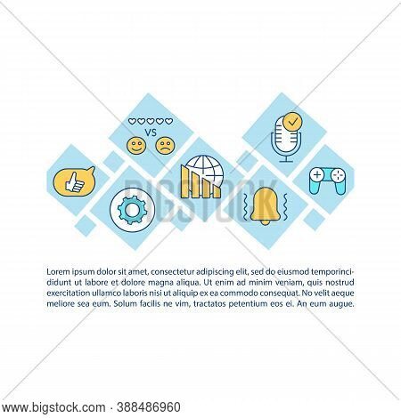 Social Media Addiction Concept Icon With Text. Digital Dementia. Gadget And Internet Dependence. Ppt