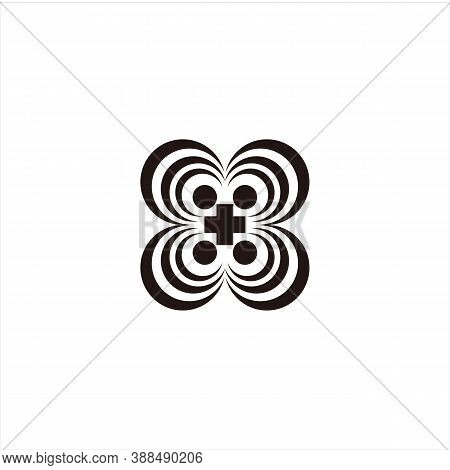 3d Line Engraving Icon. Icon With Black Outline Isolated On Transparent Background. Laser Cut Vector