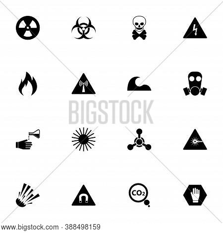 Danger Icon - Expand To Any Size - Change To Any Colour. Perfect Flat Vector Contains Such Icons As
