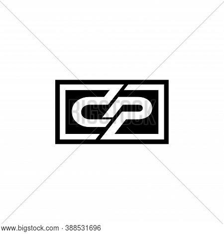 Initial Dp Pd Letter Logo Design Vector Template. Monogram And Creative Alphabet D P Letters Icon Il