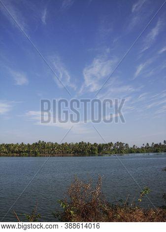 The Backwaters In Kerala, India