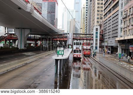 The City View Of Office Buildings Sheung Wan 18 Sept 2020