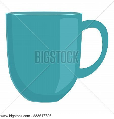Mug Cup Icon. Cartoon Of Mug Cup Vector Icon For Web Design Isolated On White Background