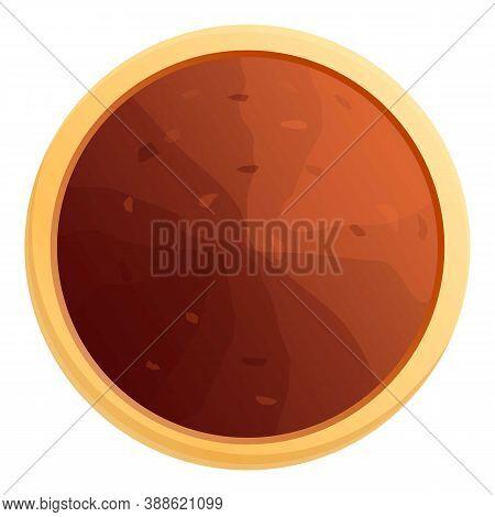 Cinnamon Powder Icon. Cartoon Of Cinnamon Powder Vector Icon For Web Design Isolated On White Backgr