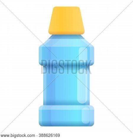 Mouthwash Care Bottle Icon. Cartoon Of Mouthwash Care Bottle Vector Icon For Web Design Isolated On