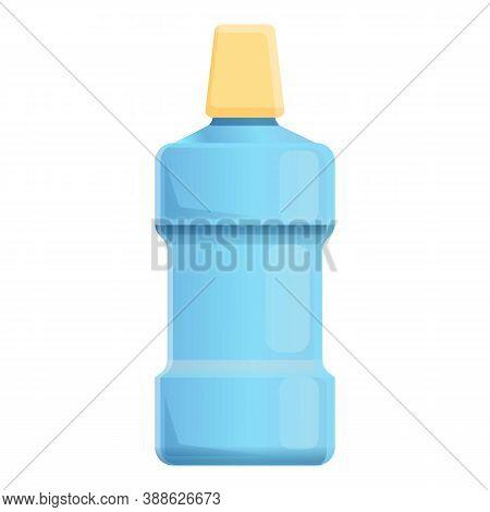 Medical Mouthwash Icon. Cartoon Of Medical Mouthwash Vector Icon For Web Design Isolated On White Ba