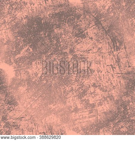 Grunge Abstract Dirty Texture. Grungy Dust Background. Ancient Rough Crack Pattern. Vintage Grain St