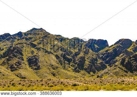 Rocky Mountain Landscape Isolated Photo