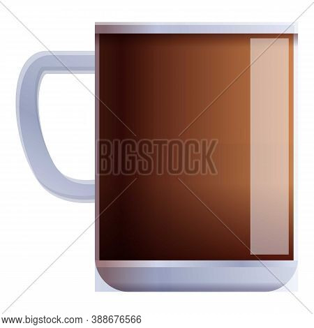 New Coffee Mug Icon. Cartoon Of New Coffee Mug Vector Icon For Web Design Isolated On White Backgrou