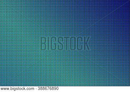 Led Screen Texture. Lcd Panel Pattern. Rgb Screen Dots Seamless Pattern. Analog Display Television.