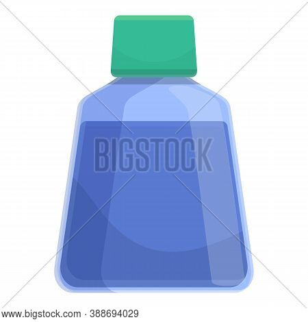 Daily Dental Rinse Icon. Cartoon Of Daily Dental Rinse Vector Icon For Web Design Isolated On White