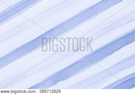 Nautical Lines Background. Vintage Stripes Illustration. Geometric Fabric Texture. Watercolor Lines