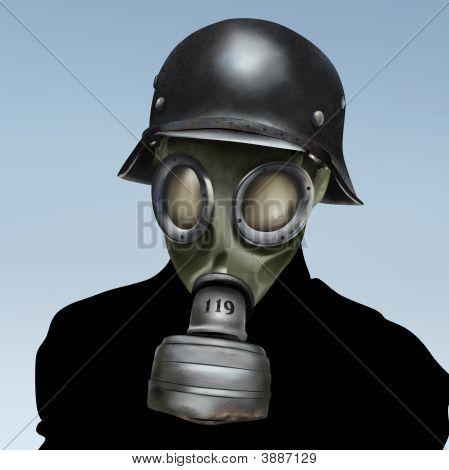 WW2 Gasmaske