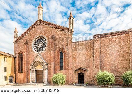 View At The Church Of  San Francesco In Mantova (mantua) - Italy