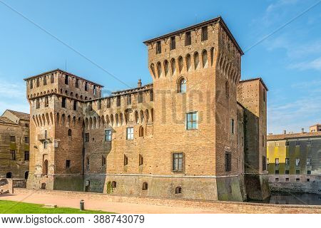 View At The Castel Of San George In Mantova (mantua) - Italy