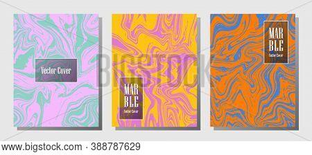Vip Marble Prints, Vector Cover Design Templates. Fluid Marble Stone Texture Iinteriors Fashion Maga