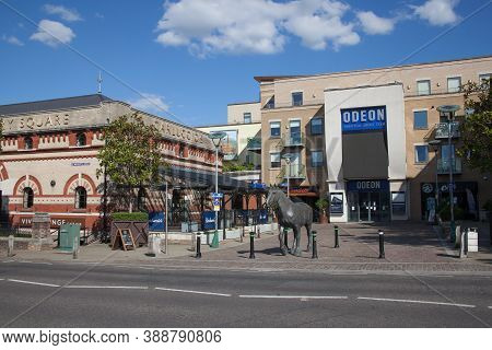 The Odeon At Brewery Square In Dorchester, Dorset In The Uk, Taken On The 20th July 2020