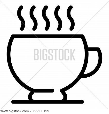 Break Mug Icon. Outline Break Mug Vector Icon For Web Design Isolated On White Background
