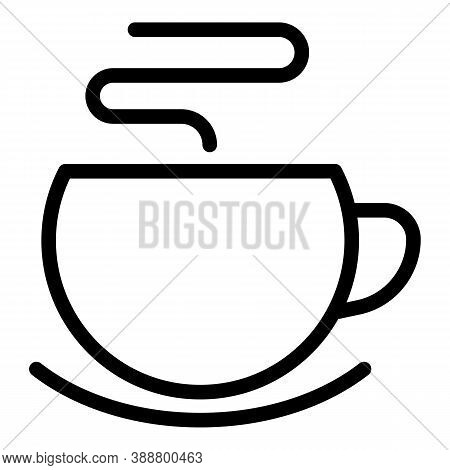Meal Mug Icon. Outline Meal Mug Vector Icon For Web Design Isolated On White Background