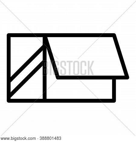Carton Box Icon. Outline Carton Box Vector Icon For Web Design Isolated On White Background