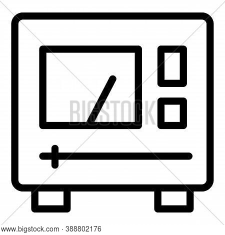 Home Voltage Regulator Icon. Outline Home Voltage Regulator Vector Icon For Web Design Isolated On W
