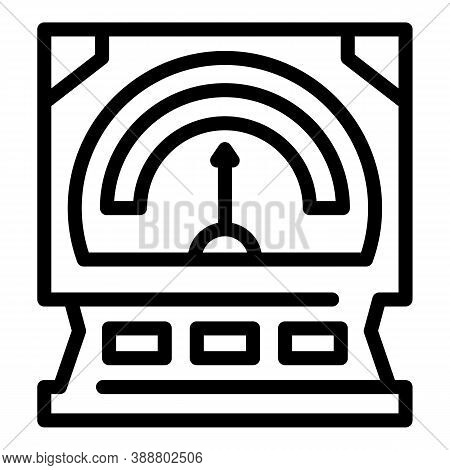 Linear Voltage Regulator Icon. Outline Linear Voltage Regulator Vector Icon For Web Design Isolated