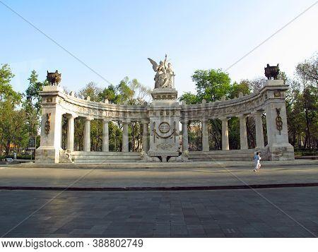 Mexico City, Mexico - 01 Mar 2011: The Monument In Mexico City, Mexico