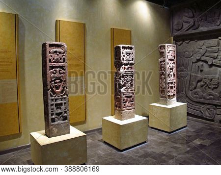 Mexico City, Mexico - 01 Mar 2011: National Museum Of Anthropology, Mexico City, Mexico
