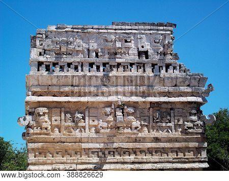 Ancient Ruins Of Maya, Chichen Itza, Mexico