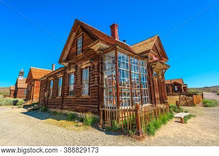 Bodie State Historic Park, California, United States Of America - August 12, 2016: Mr James Stuart C