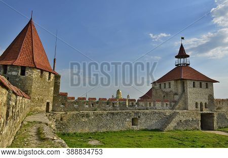 Bendery Fortress Is An Architectural Monument Of The 16th Century. Located On The Right Bank Of The