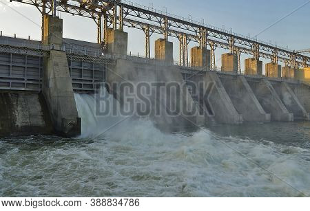Traveling In Moldova. Dubossary Hydroelectric Power Station - Hydroelectric Power Station. The Purpo