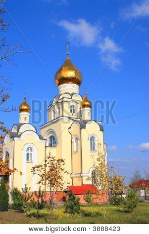 Orthodoxy Church Domes