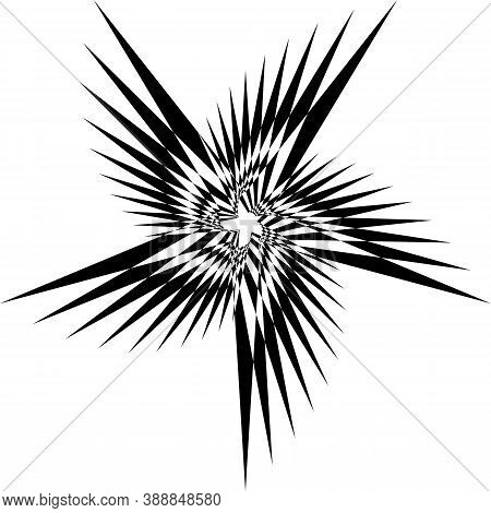Abstract Arabesque Weird Butterfly Classic Perspective Negative Space Design Black On Transparent Ba