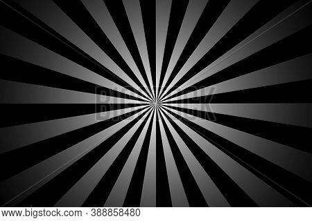 Gray Black Rays. Digital Technology Backdrop. Abstract Modern Backdrop. Lines Pattern Background. Gr