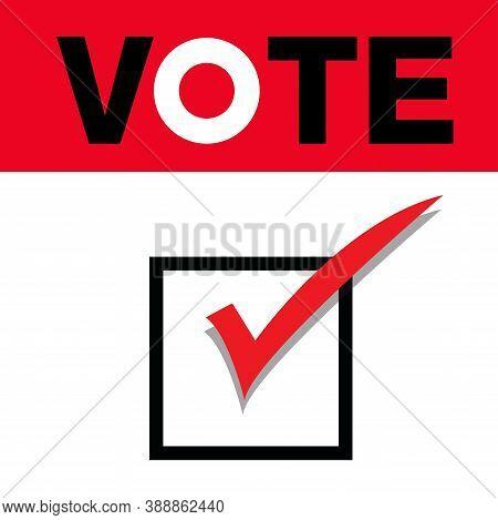 Vote Title Button, Votes Concept. Voting  Vector Design.