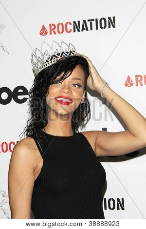 LOS ANGELES - OCT 31: Rihanna is named the Queen of the 2012 West Hollywood Halloween Carneval at Greystone Manor Supperclub on October 31, 2012 in West Hollywood, California
