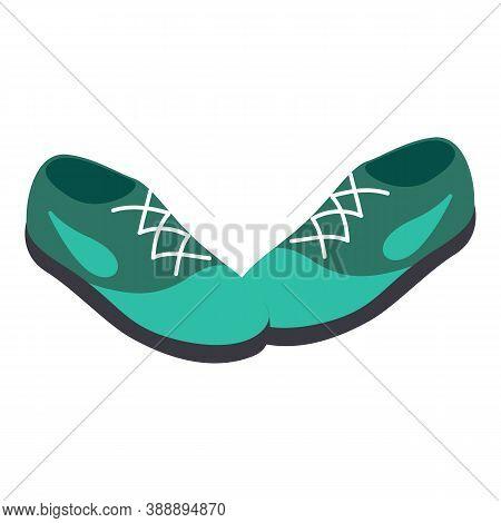 Fashion Footwear Icon. Isometric Illustration Of Fashion Footwear Vector Icon For Web