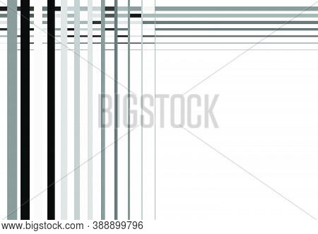 Grayscale Mosaic Style, Tessellation Mesh, Grid, Grille Of Intersected Straight Lines, Stripes