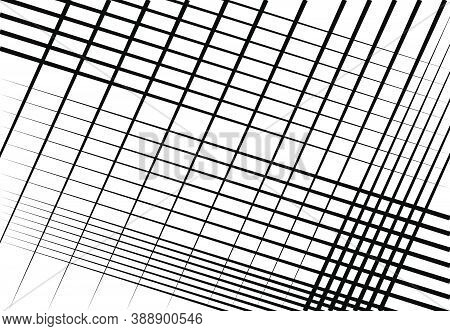 Diagonal, Tilt, Skew And Oblique Grid, Mesh Abstract Background, Pattern