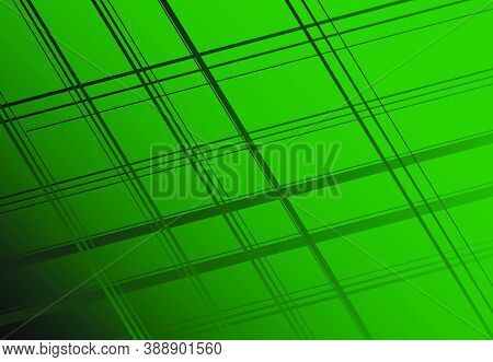 Dark Gradient Filled Mesh, Grid, Grill, Lattice, Grating Of Intersected Straight Lines