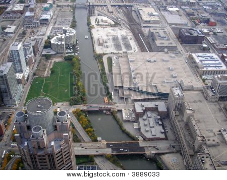 Chicago Usa City View Industrial
