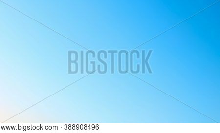 Background In Natural Blue Sky Colors, Colors Of Atmosphere, Gradient Sky Texture