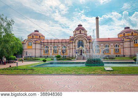 SOFIA, BULGARIA - 24 May 2018: Regional History Museum of Sofia, Bulgaria