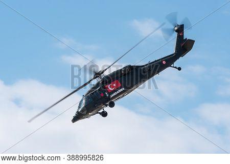 Sivrihisar, Eskisehir, Turkey - September 15, 2019: Sivrihisar Airshows Is One Of The Few Airshows O