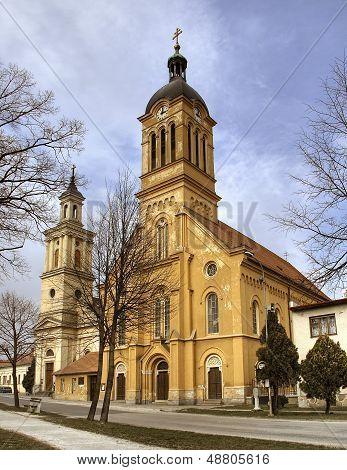 Catolic Church In City Modra