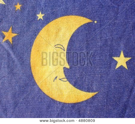 Modern colorful textile with signs of the zodiac useful for background poster