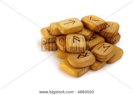 Old Wooden Runes
